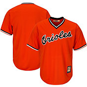 Majestic Men's Replica Baltimore Orioles Cool Base Orange Cooperstown Jersey