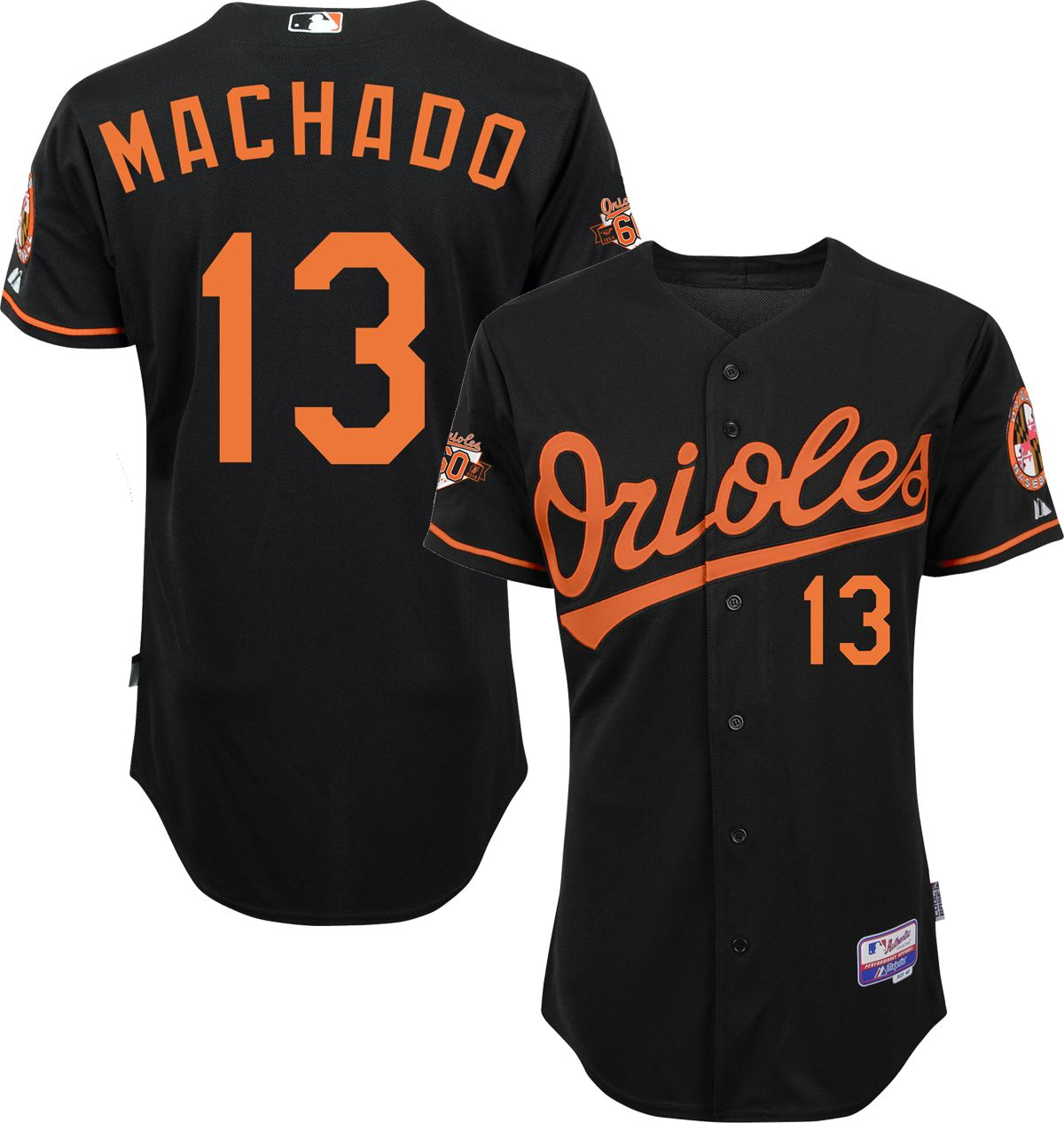 c2c453d5f ... Mens Authentic Baltimore Orioles Manny Machado 13 C Orioles 13 Manny  Machado White Cooperstown Collection Mesh Batting Practice Jersey Mens  baseball ...