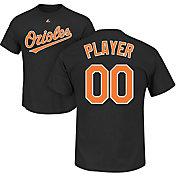 Majestic Men's Full Roster Baltimore Orioles Black T-Shirt