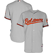 Majestic Men's Authentic Baltimore Orioles Cool Base Road Grey On-Field Jersey