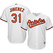 Majestic Men's Replica Baltimore Orioles Ubaldo Jimenez #31 Cool Base Home White Jersey