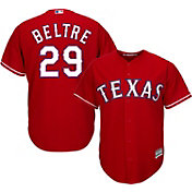 Majestic Men's Replica Texas Rangers Adrian Beltre #29 Cool Base Alternate Red Jersey