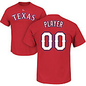 Majestic Men's Full Roster Texas Rangers Red T-Shirt
