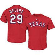 Majestic Men's Texas Rangers Adrian Beltre #29 Red T-Shirt