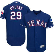 Majestic Men's Authentic Texas Rangers Adrian Beltre #29 Alternate Royal Flex Base On-Field Jersey