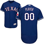 Majestic Men's Full Roster Authentic Texas Rangers Flex Base Alternate Royal On-Field Jersey