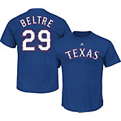 Majestic Triple Peak Men's Texas Rangers Adrian Beltre Royal T-Shirt