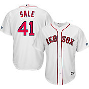 Majestic Men's Replica Boston Red Sox Chris Sale #41 Cool Base Home White Jersey
