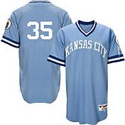Majestic Men's Kansas City Royals Eric Hosmer #35 Light Blue Turn Back The Clock Authentic Flex Base Jersey