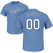 Majestic Men's Full Roster Kansas City Royals Light Blue T-Shirt