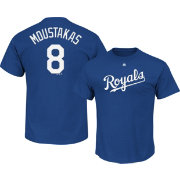 Majestic Men's Kansas City Royals Mike Moustakas #8 Royal T-Shirt