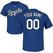 Majestic Men's Custom Kansas City Royals Royal T-Shirt