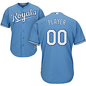 Majestic Men's Full Roster Cool Base Replica Kansas City Royals Alternate Light Blue Jersey