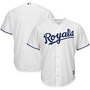 Majestic Men's Replica Kansas City Royals Cool Base Home White Jersey