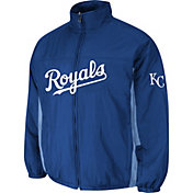 Majestic Men's Kansas City Royals Double Climate On-Field Royal Jacket
