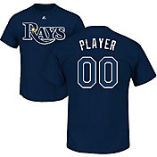 Majestic Men's Full Roster Tampa Bay Rays Navy T-Shirt