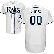 Majestic Men's Full Roster Authentic Tampa Bay Rays Flex Base Home White On-Field Jersey