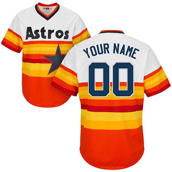 06324a7b76a ... official baseball houston astros grayorangerainbowwhite customized  jerseys men women kids 89fb0 01d26