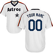 Majestic Men's Custom Cool Base Cooperstown Replica Houston Astros 1986 White Jersey
