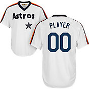 Majestic Men's Full Roster Cool Base Cooperstown Replica Houston Astros 1986 White Jersey