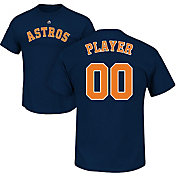 Majestic Men's Full Roster Houston Astros Navy T-Shirt