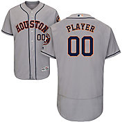 Majestic Men's Full Roster Authentic Houston Astros Flex Base Road Grey On-Field Jersey