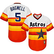 Majestic Men's Replica Houston Astros Jeff Bagwell Cool Base Rainbow Cooperstown Jersey