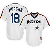 Majestic Men's Replica Houston Astros Joe Morgan Cool Base White Cooperstown Jersey