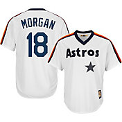 Majestic Men's Replica Houston Astros Joe Morgan Cool Base White Cooperstown Jersey