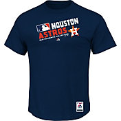 Majestic Men's Houston Astros Cool Base Navy Performance T-Shirt