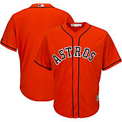 Majestic Men's Replica Houston Astros Cool Base Alternate Orange Jersey
