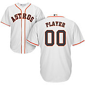 Majestic Men's Full Roster Cool Base Replica Houston Astros Home White Jersey