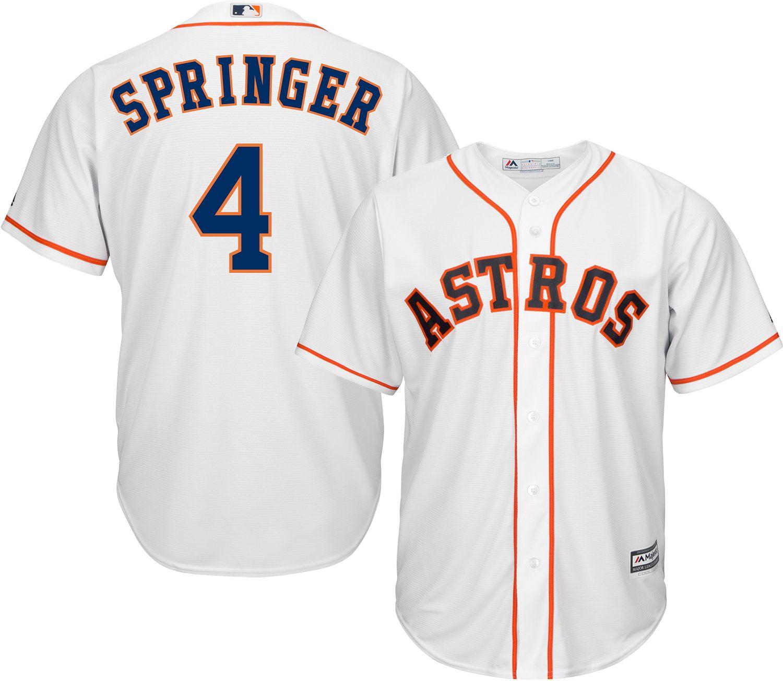 best loved 63984 4255d 4 george springer jersey manufacturing