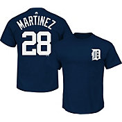 Majestic Triple Peak Men's Detroit Tigers J.D. Martinez Navy T-Shirt