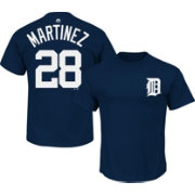Majestic Triple Peak Men's Detroit Tigers J.D. Martinez Navy T-Shirt