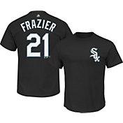Majestic Men's Chicago White Sox Todd Frazier #21 Black T-Shirt