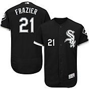 Majestic Men's Authentic Chicago White Sox Todd Frazier #21 Alternate Black Flex Base On-Field Jersey