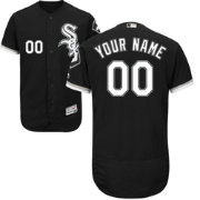 Majestic Men's Custom Authentic Chicago White Sox Flex Base Alternate Black On-Field Jersey