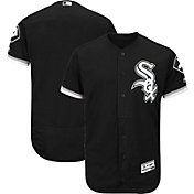 Majestic Men's Authentic Chicago White Sox Alternate Black Flex Base On-Field Jersey