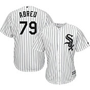 Majestic Men's Replica Chicago White Sox Jose Abreu #79 Cool Base Home White Jersey