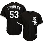 Majestic Men's Replica Chicago White Sox Melky Cabrera #53 Cool Base Alternate Black Jersey