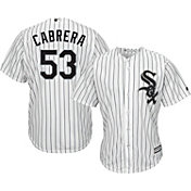 Majestic Men's Replica Chicago White Sox Melky Cabrera #53 Cool Base Home White Jersey