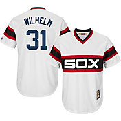 Majestic Men's Replica Chicago White Sox Hoyt Wilhelm Cool Base White Cooperstown Jersey