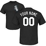 Majestic Men's Custom Chicago White Sox Black T-Shirt