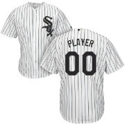 Majestic Men's Full Roster Cool Base Replica Chicago White Sox Home White Jersey