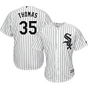 Majestic Men's Replica Chicago White Sox Frank Thomas #35 Cool Base Home White Jersey