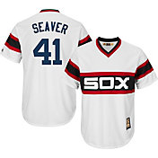 Majestic Men's Replica Chicago White Sox Tom Seaver Cool Base White Cooperstown Jersey