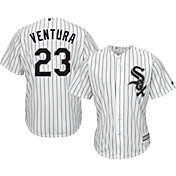 Majestic Men's Replica Chicago White Sox Robin Ventura #23 Cool Base Home White Jersey