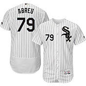 Majestic Men's Authentic Chicago White Sox Jose Abreu #79 Home White Flex Base On-Field Jersey