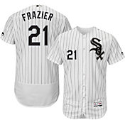 Majestic Men's Authentic Chicago White Sox Todd Frazier #21 Home White Flex Base On-Field Jersey